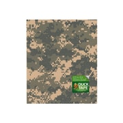 Duck Duct Tape Sheets 8 1/4 In. X 10 In. Digital Camouflage Each [Pack Of 8] (8PK-282699)