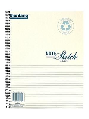 Bienfang Note Sketch Book Horizontal Format 11 In. X 8 1/2 In. [Pack Of 2] (2PK-239102)