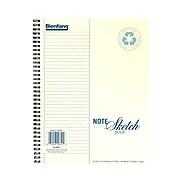Bienfang Note Sketch Book Vertical Format 11 In. X 8 1/2 In. (239101)