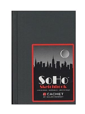 Cachet Soho Sketch Book 6 In. X 4 In. [Pack Of 3] (3PK-479100406)