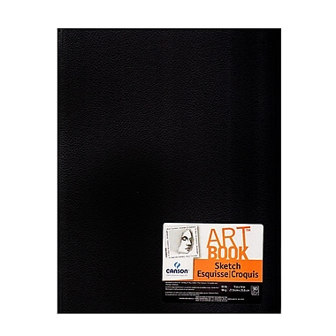 Canson Basic Sketch Book, 11 In. x 14 In. (100510419)