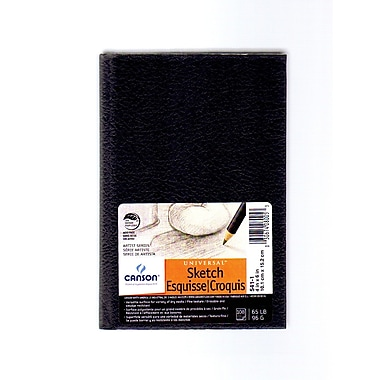 Canson Basic Sketch Book, 4 In. x 6 In., Pack Of 2 (2PK-100510343)