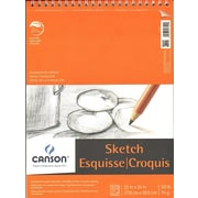 Canson Foundation Sketch Pads 11 In. X 14 In. 50 Sheets [Pack Of 3] (3PK-100511030)