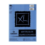 Canson XL Watercolor Pads, 9 In. x 12 In., Pad Of 30 (100510941)