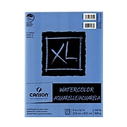 Canson XL Watercolor Pads, 9 In. x 12 In., Pad Of 30, Pack Of 3 (3PK-100510941)