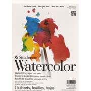 Strathmore Student Art Watercolor Pads 9 In. X 12 In. [Pack Of 4] (4PK-25-109-1)