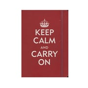 Peter Pauper Small Format Journals Keep Calm  And  Carry On 5 In. X 7 In. 160 Pages [Pack Of 3] (3PK-9781593596743)