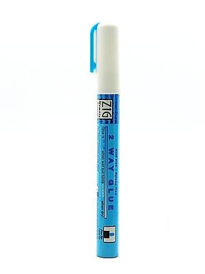 Zig Memory System 2-Way Glue Pens Fine 2 Mm [Pack Of 6] (6PK-MSB-20M/1P)