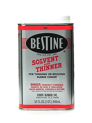 Best-Test Bestine Solvent And Thinner 32 Oz. (202)