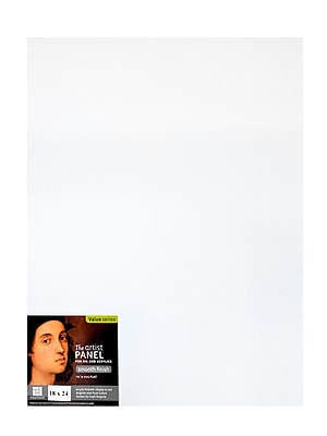 Ampersand The Artist Panel Primed Smooth Flat Profile 18 In. X 24 In. 1/8 In. (APS1824)