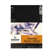 Canson Pure White Drawing Pads 9 In. X 12 In. [Pack Of 3] (3PK-100510890)