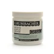 Grumbacher Acrylic Gesso 16 Oz. (525-16)