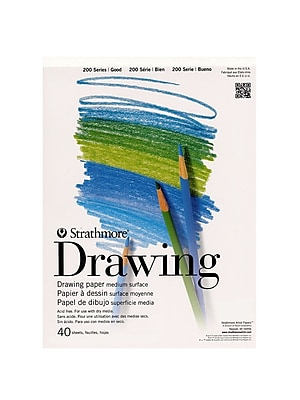 Strathmore Student Art Drawing Paper Pad 11 In. X 14 In. [Pack Of 3] (3PK-25-011-1)