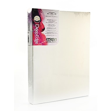 Winsor And Newton Artists' Deep Edge Canvas 9 In. X 12 In. Each [Pack Of 2] (2PK-6015109)