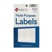 Maco Multi-Purpose Handwrite Labels Rectangular 1 In. X 1 1/2 In. Pack Of 500 [Pack Of 6] (6PK-MS-1624)
