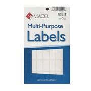 Maco Multi-Purpose Handwrite Labels Rectangular 1/2 In. X 1 In. Pack Of 1000 [Pack Of 6] (6PK-MS-816)