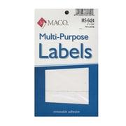 Maco Multi-Purpose Handwrite Labels Rectangular 4 In. X 1 1/2 In. Pack Of 160 [Pack Of 6] (6PK-MS-6424)
