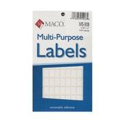 Maco Multi-Purpose Handwrite Labels Rectangular 5/16 In. X 12 In. Pack Of 1000 [Pack Of 6] (6PK-MS-508)