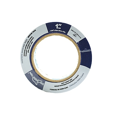 Blue Dolphin Tapes Painter'S Tape For Professionals 1 In. X 180 Ft. [Pack Of 6] (6PK-BDT 0100)