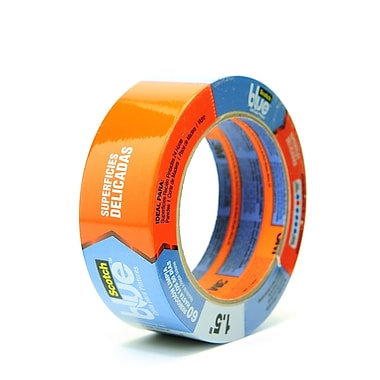 Scotch Blue Painter'S Tape 1 1/2 In. X 60 Yd. Delicate Surfaces [Pack Of 3] (3PK-2080EL-36E)