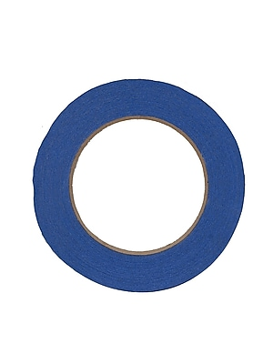 The Chenille Kraft Company Colored Masking Tape Blue 1 In. X 60 Yd. [Pack Of 6] (6PK-4852)