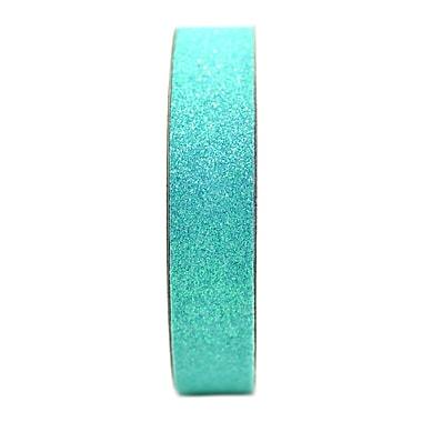 American Crafts Glitter Tape 5/8 In. Aqua 3 Yd. Spool [Pack Of 9] (9PK-96027)