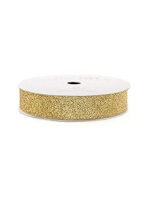 American Crafts Glitter Tape 5/8 In. Brown Sugar 3 Yd. Spool [Pack Of 9] (9PK-96044)