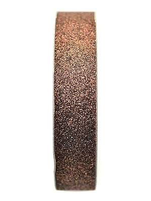 American Crafts Glitter Tape 5/8 In. Chestnut 3 Yd. Spool [Pack Of 9] (9PK-96043)