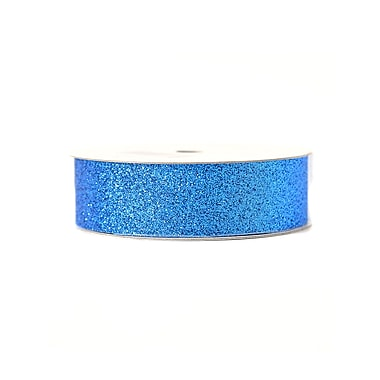 American Crafts Glitter Tape 7/8 In. Marine 3 Yd. Spool [Pack Of 9] (9PK-96035)