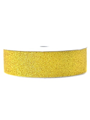 American Crafts Glitter Tape 7/8 In. Sunflower 3 Yd. Spool [Pack Of 9] (9PK-96067)