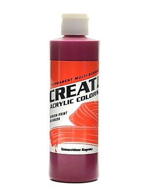 Createx Acrylic Colors Quinacridone Magenta 8 Oz. [Pack Of 3] (3PK-2012-08) 2133653