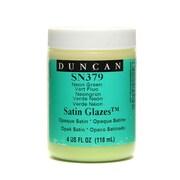 Duncan Satin Glazes Neon Green 4 Oz. [Pack Of 3] (3PK-SN379-4 23990)