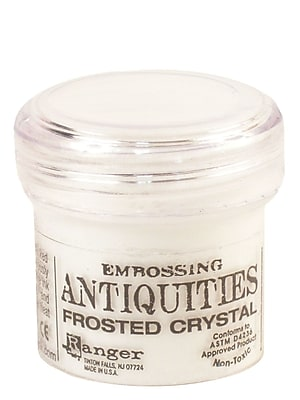 Ranger Specialty Embossing Powders Frosted Crystal 1 Oz. Jar [Pack Of 3] (3PK-EPJ37576)