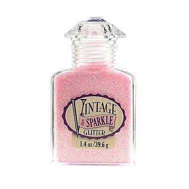 Advantus Corp Vintage And Sparkle Glitter Chantilly Lace 1.4 Oz. Bottle [Pack Of 4] (4PK-SUL51617)