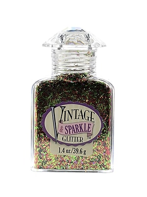 Advantus Corp Vintage And Sparkle Glitter Costume Party Sliver Mix 1.4 Oz. Bottle [Pack Of 4] (4PK-SUL51636)