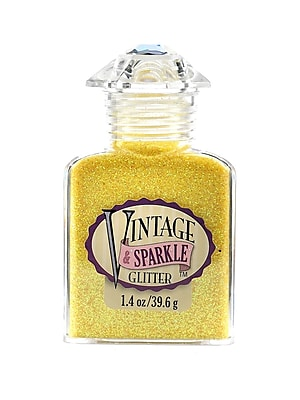 Advantus Corp Vintage And Sparkle Glitter Starlet 1.4 Oz. Bottle [Pack Of 4] (4PK-SUL51618)