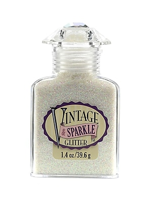 Advantus Corp Vintage And Sparkle Glitter String Of Pearls 1.4 Oz. Bottle [Pack Of 4] (4PK-SUL51614)