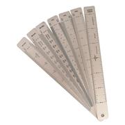 Alumicolor Aluminum Drafting Fan 8 Blade Tool (3699-1)