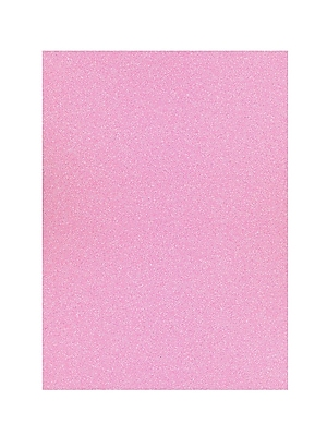 American Crafts Glitter Paper Blush 12 In. X 12 In. Sheet [Pack Of 10] (10PK-71433)