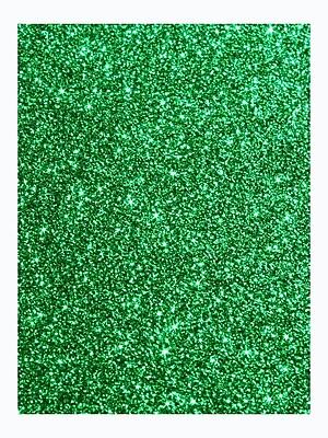 American Crafts Glitter Paper Evergreen 12 In. X 12 In. Sheet [Pack Of 10] (10PK-71418)
