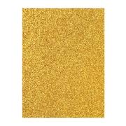 American Crafts Glitter Paper Mustard 12 In. X 12 In. Sheet [Pack Of 10] (10PK-71420)