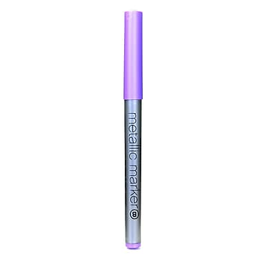 American Crafts Metallic Markers Violet Broad [Pack Of 12] (12PK-62228)