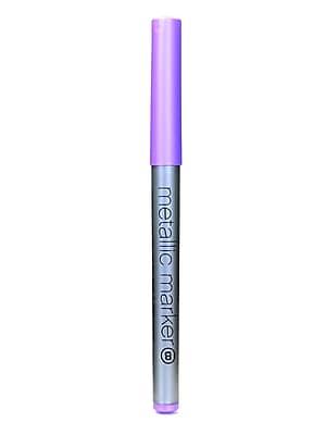 American Crafts Metallic Markers Violet Broad [Pack Of 12] (12PK-62228)