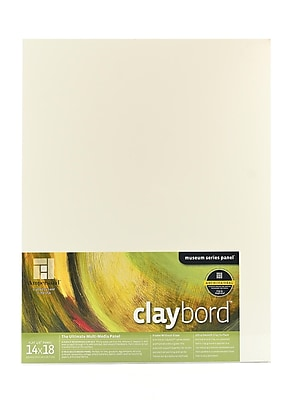 Ampersand Claybord 14 In. X 18 In. Each (CBS14)