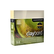 "Ampersand Cradled Claybord Board, 8"" X 8"", 2"" (CBSWC088)"