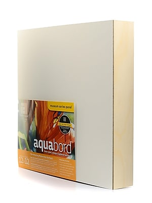 Ampersand Deep Cradle Aquabord 12 In. X 12 In. (CBTW122)