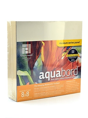Ampersand Deep Cradle Aquabord 8 In. X 8 In. (CBTW088)