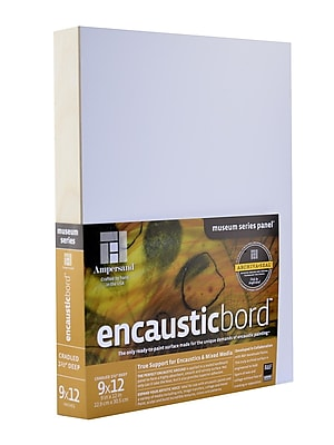 Ampersand Encausticbord 9 In. X 12 In. 1 1/2 In. Each (ENC150912)