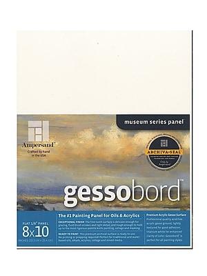 Ampersand Gessobord 8 In. X 10 In. 1/8 In. Each [Pack Of 3] (3PK-GBS08)