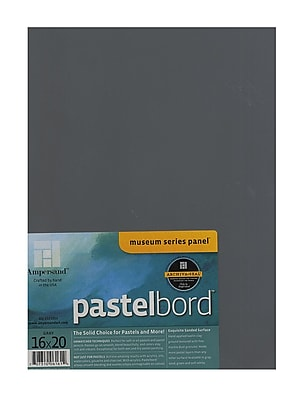 Ampersand Pastelbord 16 In. X 20 In. Gray Each (PB16)